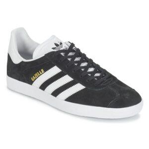 Adidas Gazelle Μαύρα με Άσπρες Λωρίδες