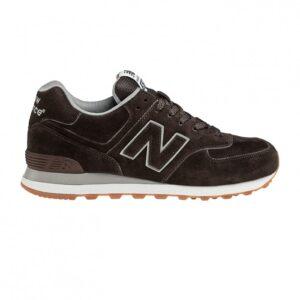 Παπούτσια New Balance 574 καφέ ανδρικά