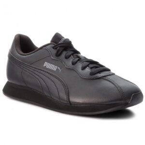 Δερμάτινα παπούτσια Puma Turin II μαύρα