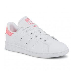 Adidas Stan Smith FU9649 (Λευκό-Ρόζ)